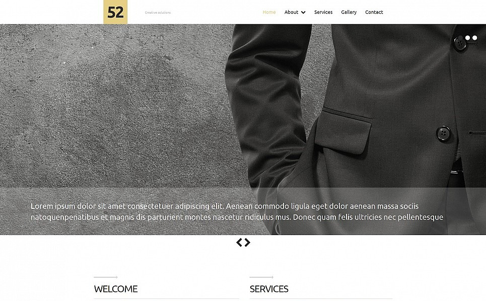 Reszponzív Üzlet és szolgáltatások Moto CMS 3 sablon New Screenshots BIG