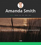 Personal Page Moto CMS 3  Template 52351