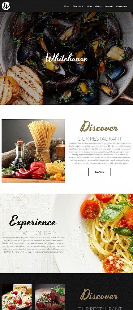 ADOBE Photoshop Template 52352 Home Page Screenshot