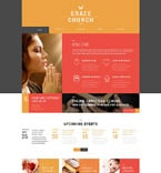 Religious WordPress Template 52360