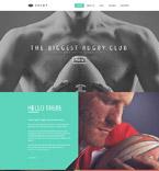 Sport Website  Template 52361