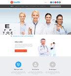 Medical Website  Template 52362