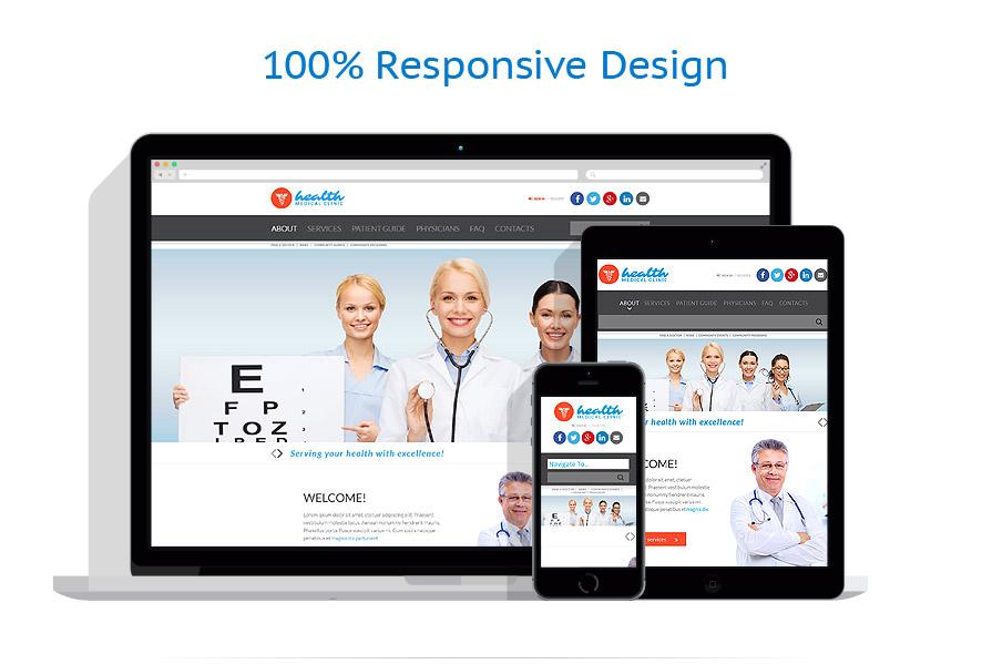 Modèles HTML5 Médical #52362