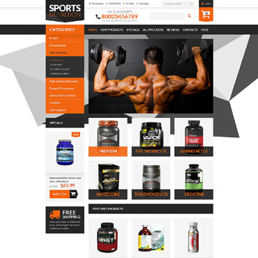 Preview image of Bodybuilding Supplements