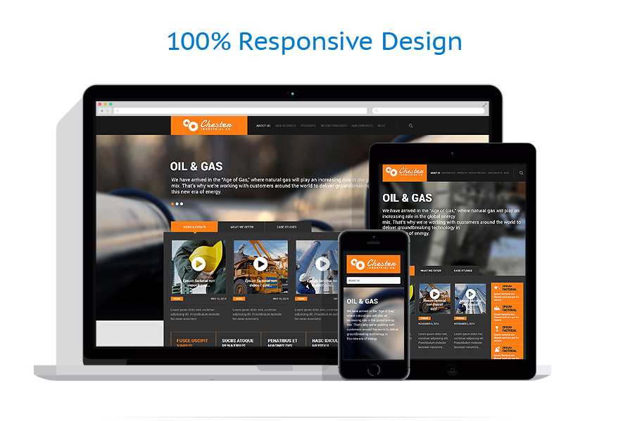Thèmes WordPress Industriel #52370