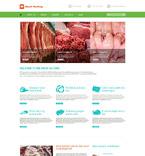 Food & Drink WordPress Template 52374