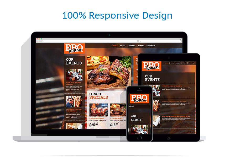 Modèles HTML5 Café et Restaurant #52378