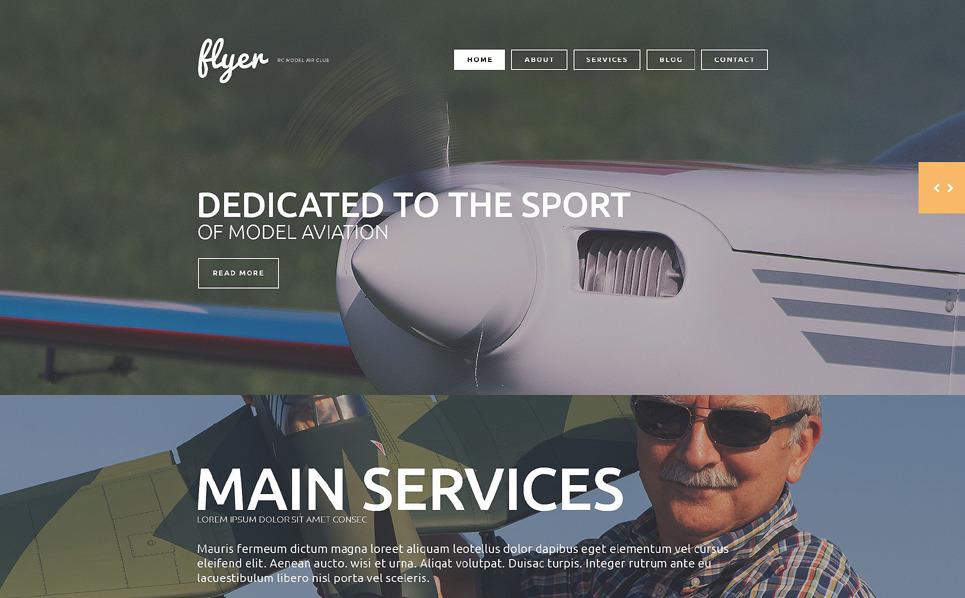 Responsive Eğlence  Web Sitesi Şablonu New Screenshots BIG