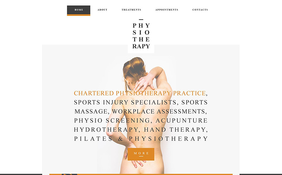 Template Siti Web Responsive #52381 per Un Sito di Settore Medico New Screenshots BIG