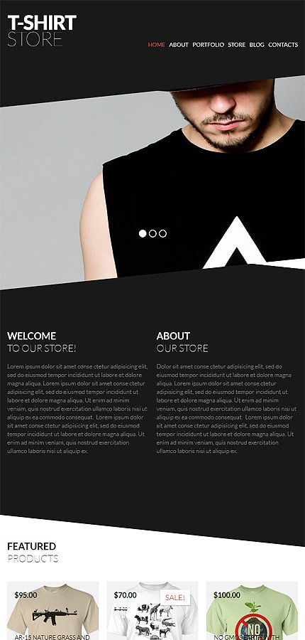 ADOBE Photoshop Template 52383 Home Page Screenshot