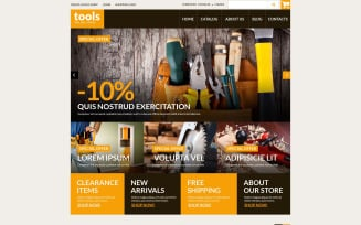 Handyman's Tools VirtueMart Template