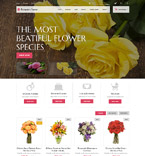 Flowers PrestaShop Template 52387