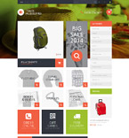 Travel PrestaShop Template 52388