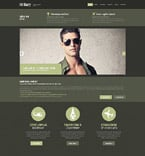 Military Website  Template 52392