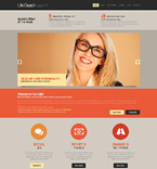 Society and Culture Website  Template 52393