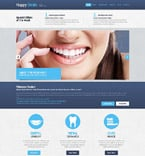 Medical Website  Template 52394
