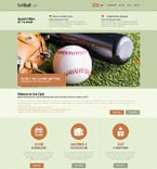 Sport Website  Template 52395