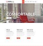 Furniture Website  Template 52398
