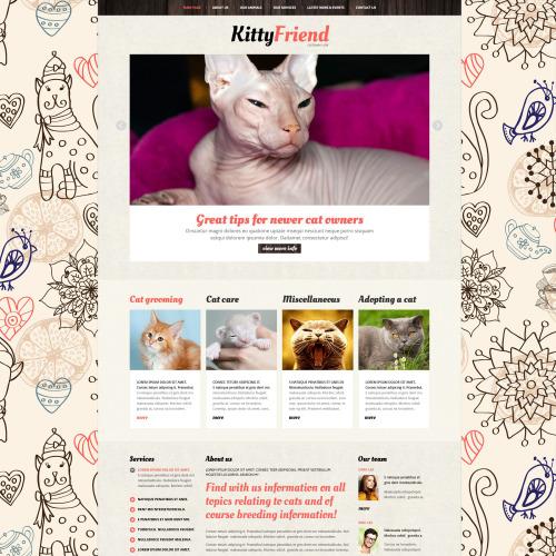 Kitty Friend - Joomla! Template based on Bootstrap