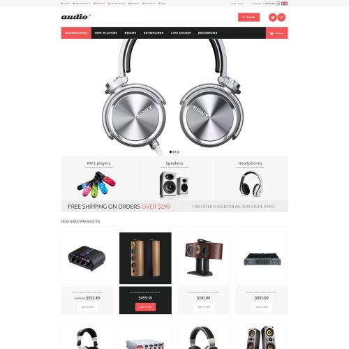 Audio - HTML5 ZenCart Template