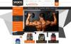 Bodybuilding Supplements Template ZenCart  №52369 New Screenshots BIG