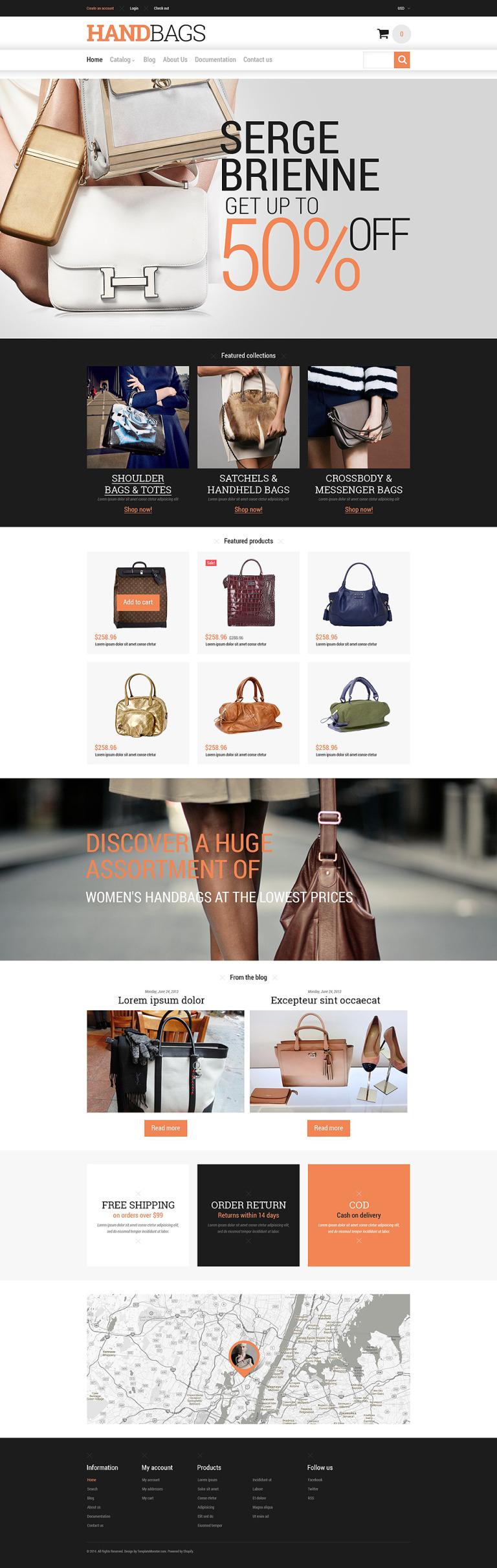 Branded Handbags Shopify Theme New Screenshots BIG