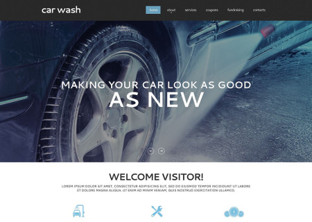 Car Wash Responsive