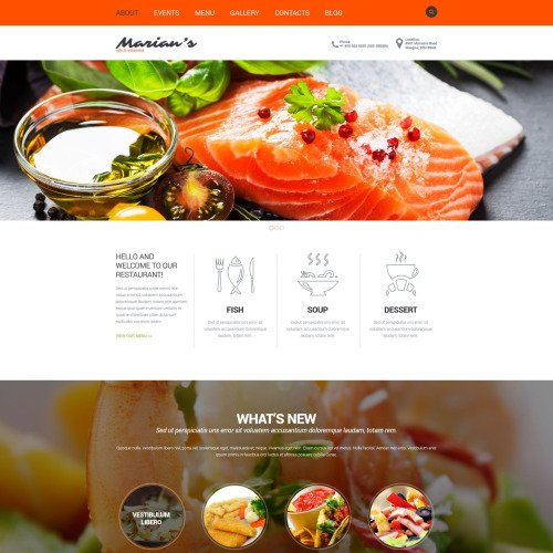 Marian's  - Joomla! Template based on Bootstrap