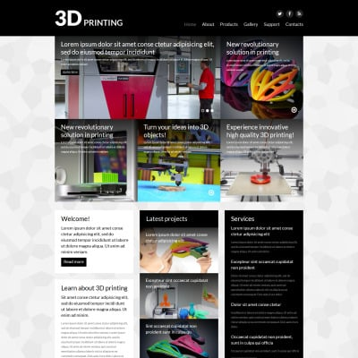 Print Shop Responsive Joomla Template