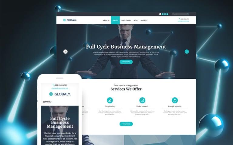 Free WordPress BusinessTheme WordPress Theme New Screenshots BIG