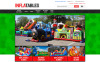 Inflatables Magento Theme New Screenshots BIG