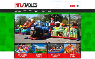 Inflatables Magento Theme