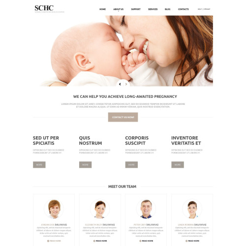 Schc - Joomla! Medical Template based on Bootstrap