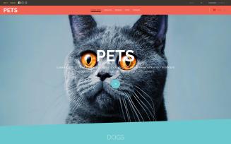 Pet Store VirtueMart Template