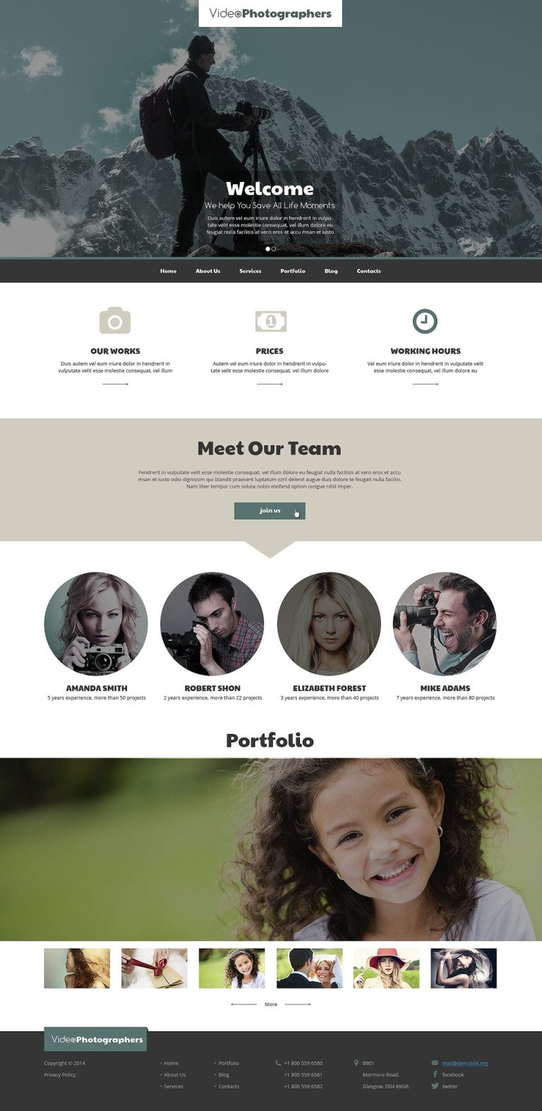 Pro Video Photo Stuff Drupal Template New Screenshots BIG
