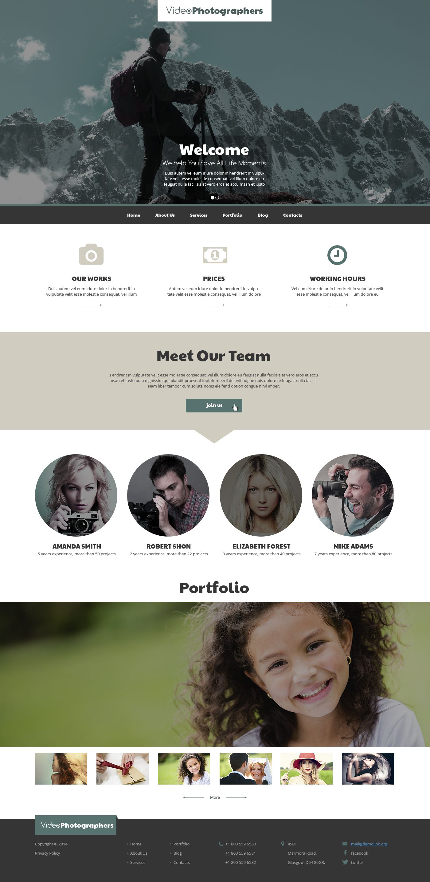 Pro Video  Photo Stuff Drupal Template