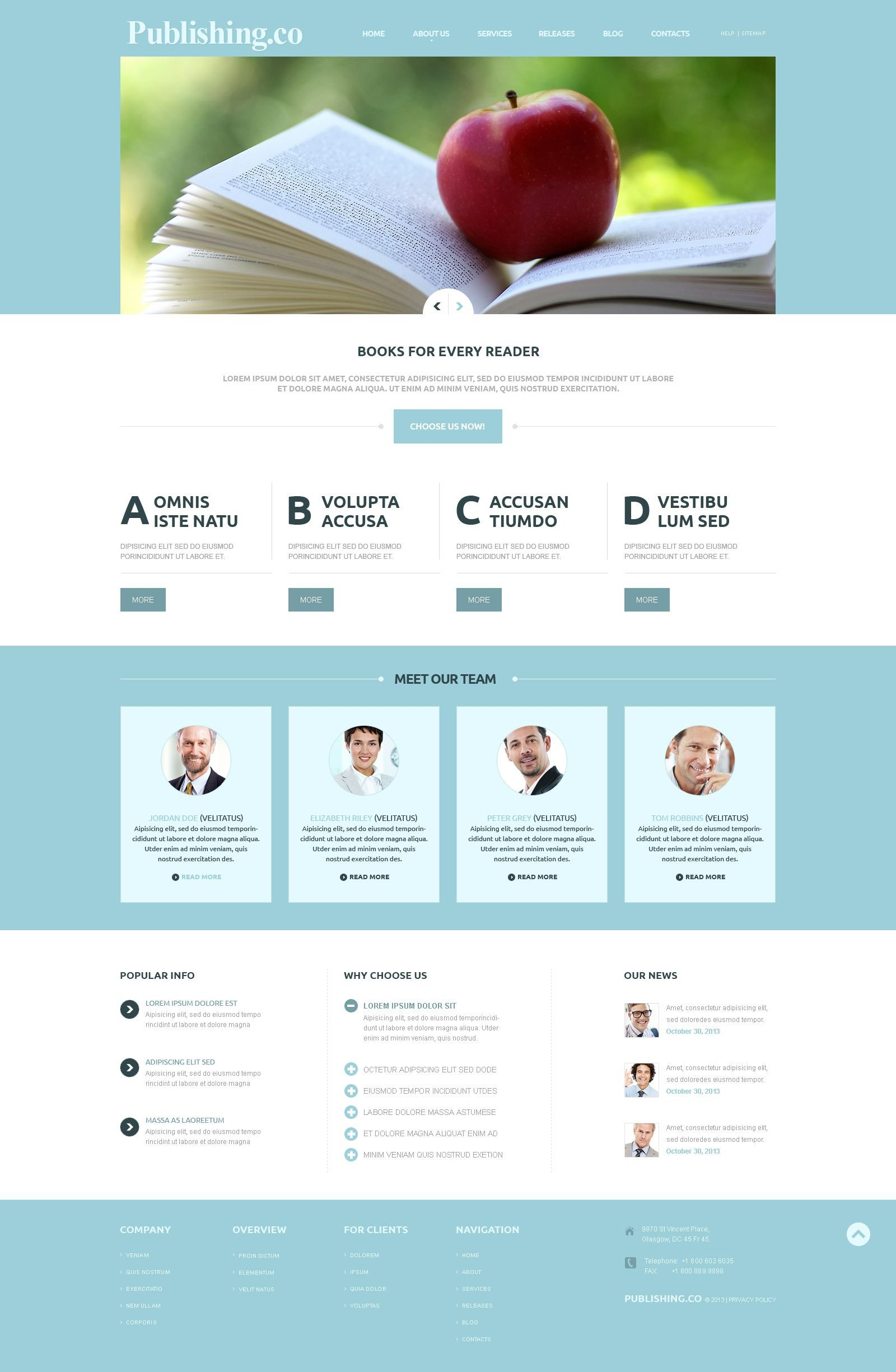 book publisher website template wordpress theme and templates publishing company templates templatemonster consulting business website template