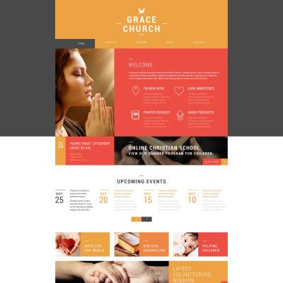 Church WordPress Themes – Religious Brochure