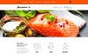 Responzivní Joomla šablona na téma Evropská kuchyně Restaurace New Screenshots BIG