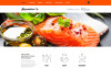 Reszponzív Cozy Restaurant Joomla sablon New Screenshots BIG