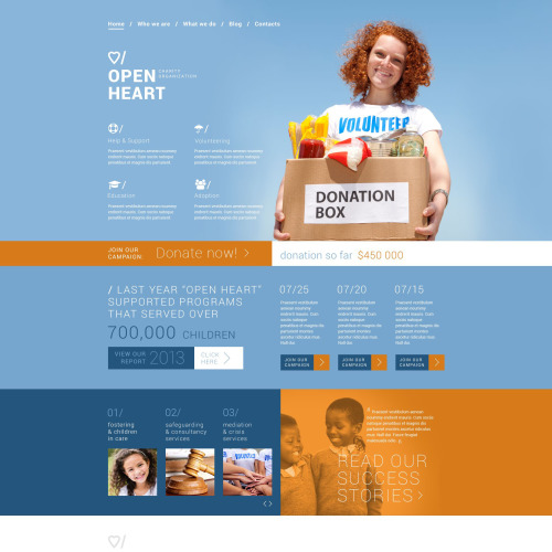 Open Heart - Joomla! Template based on Bootstrap
