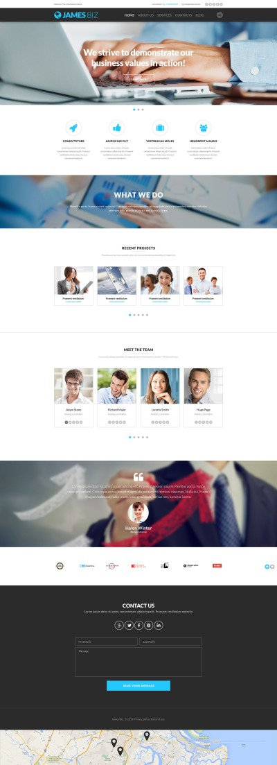 Business Responsive Template Siti Web