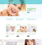 Medical Website  Template 52401