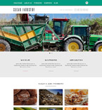 Agriculture Website  Template 52402