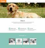 Animals & Pets Website  Template 52403