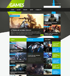 Games Joomla  Template 52407