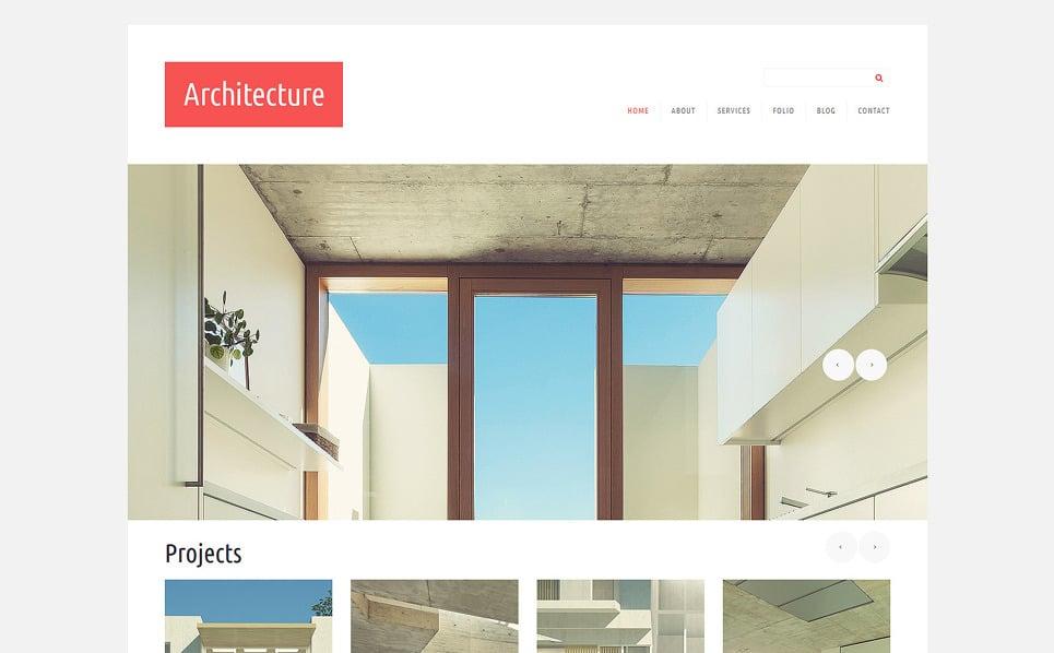 Responzivní Joomla šablona na téma Architektura New Screenshots BIG
