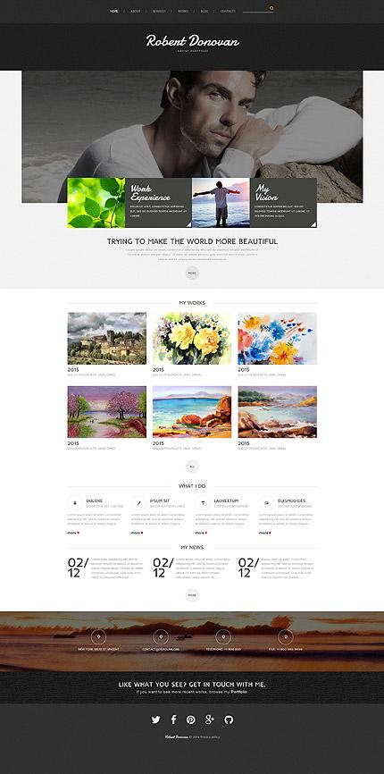 how to create a portfolio website with joomla