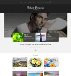 Personal Page Joomla  Template 52414