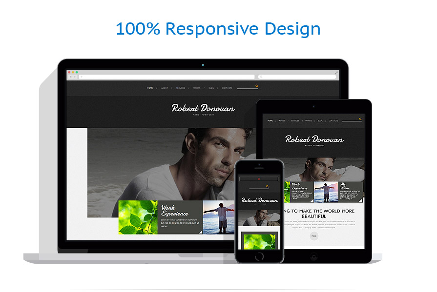 Thèmes Joomla Personal pages #52414